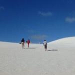 パース ランセリン砂丘でサンドボード砂すべりにチャレーーーーーンジ!!!!!