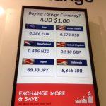 両替はオーストラリア、又は日本がお得???